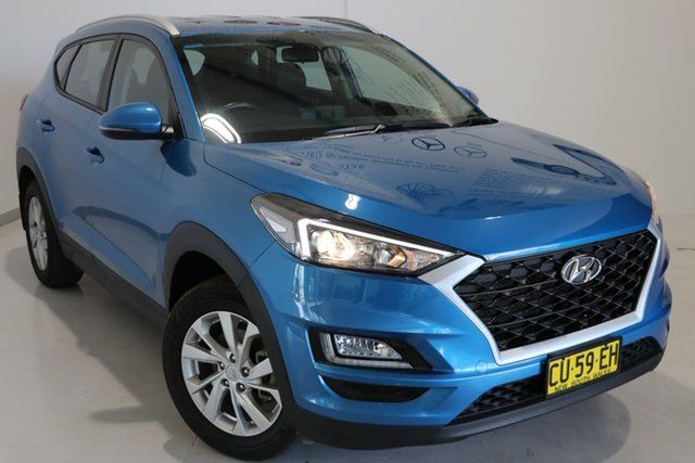 Used Hyundai Tucson TL3 MY19 Active X 2WD Wagga Wagga, 2019 Hyundai Tucson TL3 MY19 Active X 2WD Blue 6 Speed Automatic Wagon