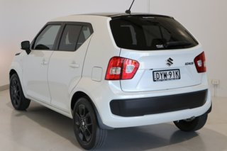 2018 Suzuki Ignis MF GLX White 1 Speed Constant Variable Hatchback.