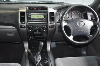 2005 Toyota Landcruiser Prado GRJ120R GXL (4x4) Silver 5 Speed Automatic Wagon.