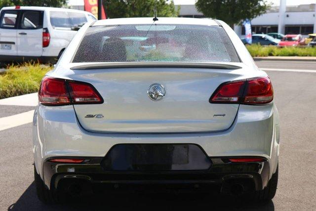 Used Holden Commodore VF II MY16 SV6 Essendon Fields, 2015 Holden Commodore VF II MY16 SV6 Silver 6 Speed Sports Automatic Sedan