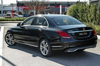 2015 Mercedes-Benz C-Class W205 C200 7G-Tronic + Black 7 Speed Sports Automatic Sedan