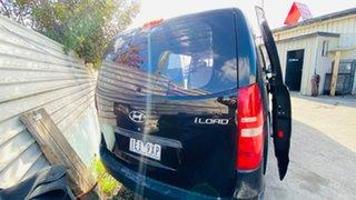 2015 Hyundai iLOAD TQ2-V MY15 Crew Cab Black 5 Speed Automatic Van
