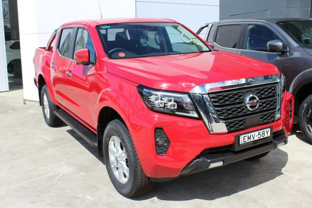 Demo Nissan Navara D23 MY21 ST Cardiff, 2021 Nissan Navara D23 MY21 ST Burning Red 7 Speed Sports Automatic Utility