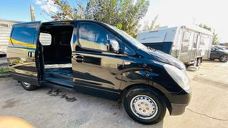 2015 Hyundai iLOAD TQ2-V MY15 Crew Cab Black 5 Speed Automatic Van.