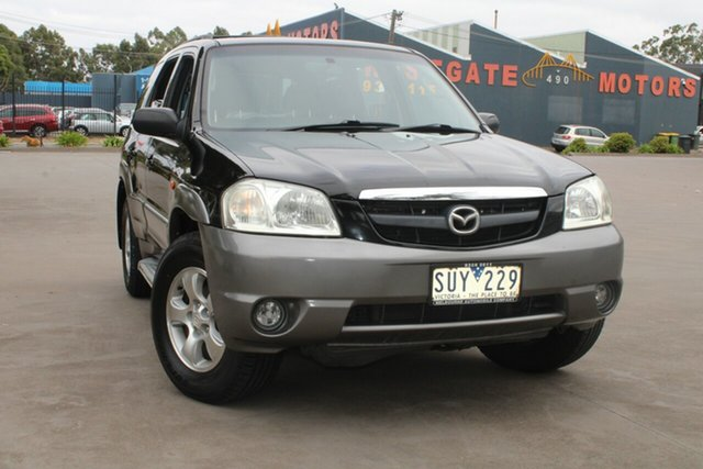 Used Mazda Tribute Classic West Footscray, 2004 Mazda Tribute Classic Black 4 Speed Automatic 4x4 Wagon