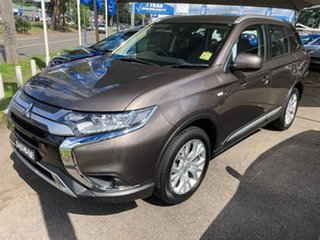 2019 Mitsubishi Outlander ZL MY19 ES AWD Bronze 6 Speed Constant Variable Wagon.