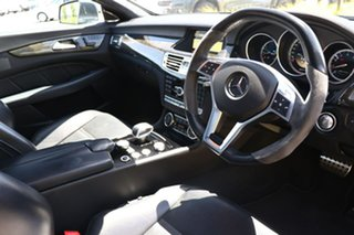 2012 Mercedes-Benz CLS-Class C218 CLS63 AMG Coupe SPEEDSHIFT MCT Grey 7 Speed Sports Automatic Sedan.