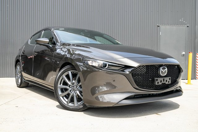 New Mazda 3 BP2H7A G20 SKYACTIV-Drive Touring Mornington, 2021 Mazda 3 BP2H7A G20 SKYACTIV-Drive Touring Titanium Flash 6 Speed Sports Automatic Hatchback