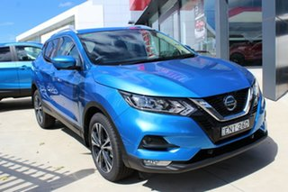 2021 Nissan Qashqai J11 Series 3 MY20 ST-L X-tronic Vivid Blue 1 Speed Constant Variable Wagon