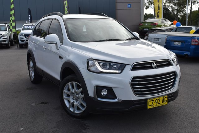 Used Holden Captiva CG MY17 Active 2WD Tuggerah, 2016 Holden Captiva CG MY17 Active 2WD White 6 Speed Sports Automatic Wagon