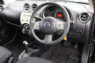 2011 Nissan Micra K13 ST Black 4 Speed Automatic Hatchback