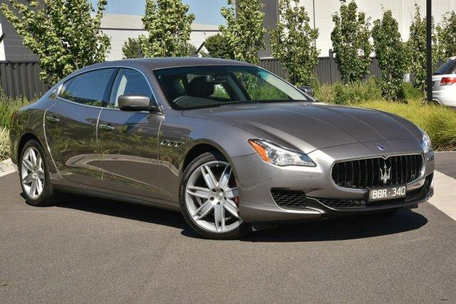 Used Maserati Quattroporte M156 MY16 Essendon Fields, 2015 Maserati Quattroporte M156 MY16 Grey 8 Speed Sports Automatic Sedan
