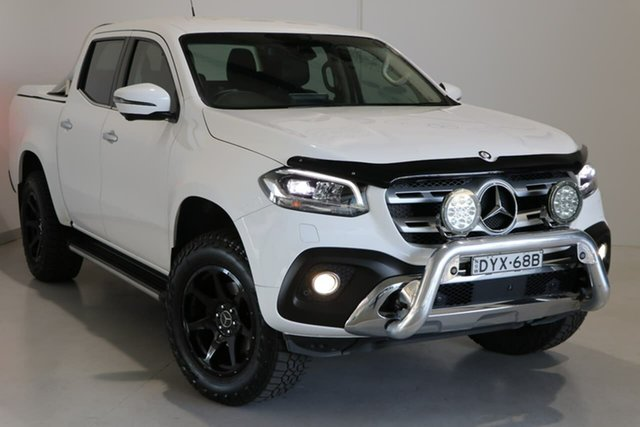 Used Mercedes-Benz X-Class 470 X250d 4MATIC Power Wagga Wagga, 2017 Mercedes-Benz X-Class 470 X250d 4MATIC Power White 7 Speed Sports Automatic Utility