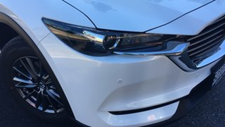 2021 Mazda CX-8 KG4W2A Touring SKYACTIV-Drive i-ACTIV AWD White Pearl 6 Speed Sports Automatic Wagon.