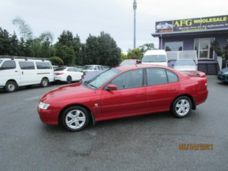 2003 Holden Commodore VY Lumina Red 4 Speed Automatic Sedan