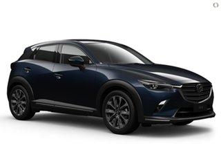 2021 Mazda CX-3 DK2W7A Akari SKYACTIV-Drive FWD Blue 6 Speed Sports Automatic Wagon.