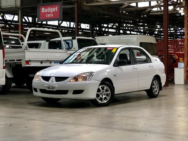 Used Mitsubishi Lancer CH ES Mile End South, 2004 Mitsubishi Lancer CH ES White 4 Speed Automatic Sedan