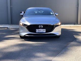 2021 Mazda 3 BP2HLA G25 SKYACTIV-Drive GT Sonic Silver 6 Speed Sports Automatic Hatchback.