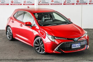 2020 Toyota Corolla ZWE211R ZR E-CVT Hybrid Feverish Red 10 Speed Constant Variable Hatchback Hybrid.