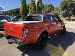 2012 Ford Ranger PX Wildtrak Double Cab Orange 6 Speed Sports Automatic Utility