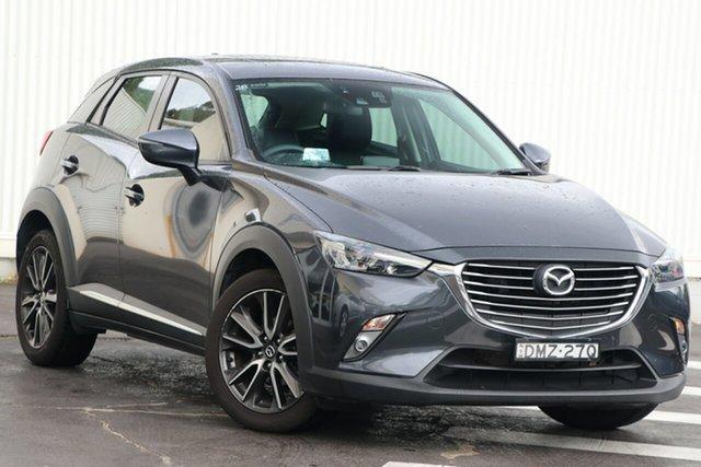 Used Mazda CX-3 DK2W7A Akari SKYACTIV-Drive Wollongong, 2017 Mazda CX-3 DK2W7A Akari SKYACTIV-Drive Meteor Grey 6 Speed Sports Automatic Wagon