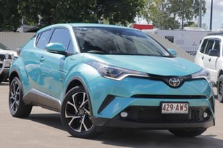 2017 Toyota C-HR NGX10R Koba S-CVT 2WD Green 7 Speed Constant Variable Wagon.