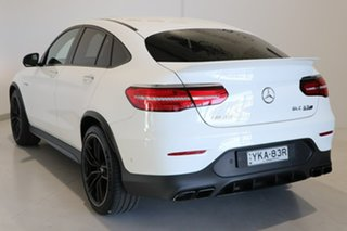 2019 Mercedes-Benz GLC-Class C253 809MY GLC63 AMG Coupe SPEEDSHIFT MCT 4MATIC+ S White 9 Speed