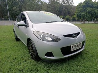 2007 Mazda 2 DE10Y1 Neo Silver 5 Speed Manual Hatchback.