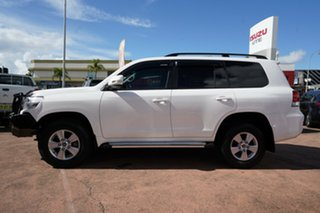 2016 Toyota Landcruiser VDJ200R MY16 GXL (4x4) White 6 Speed Automatic Wagon
