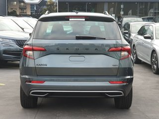 2020 Skoda Karoq NU MY21 140TSI DSG AWD Sportline Grey 7 Speed Sports Automatic Dual Clutch Wagon