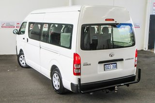 2012 Toyota HiAce KDH223R MY12 Upgrade Commuter French Vanilla 4 Speed Automatic Bus.