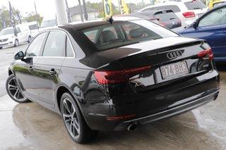 2016 Audi A4 B9 8W MY17 Sport S Tronic Brilliant Black 7 Speed Sports Automatic Dual Clutch Sedan.