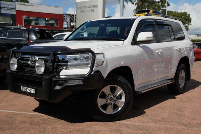 Used Toyota Landcruiser VDJ200R MY16 GXL (4x4) Brookvale, 2016 Toyota Landcruiser VDJ200R MY16 GXL (4x4) White 6 Speed Automatic Wagon