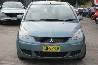 2007 Mitsubishi Colt RG MY07 ES Blue 1 Speed Constant Variable Hatchback.