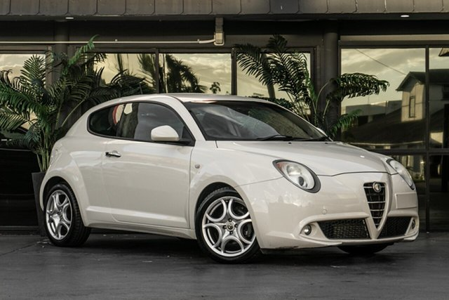 Used Alfa Romeo Mito MY10 TCT Bowen Hills, 2011 Alfa Romeo Mito MY10 TCT White 6 Speed Sports Automatic Dual Clutch Hatchback
