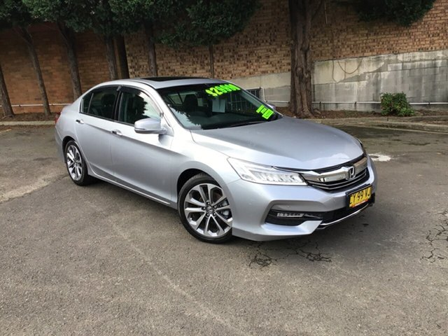 Used Honda Accord 9th Gen MY16 VTi-L Hornsby, 2017 Honda Accord 9th Gen MY16 VTi-L Silver 5 Speed Sports Automatic Sedan