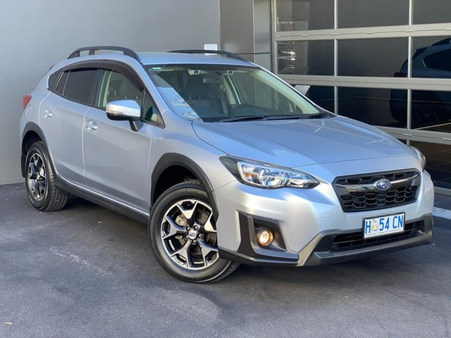 Used Subaru XV G5X MY18 2.0i-L Lineartronic AWD Hobart, 2017 Subaru XV G5X MY18 2.0i-L Lineartronic AWD Silver 7 Speed Constant Variable Wagon
