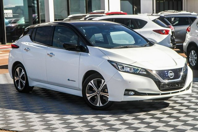 Used Nissan Leaf ZE1 Attadale, 2020 Nissan Leaf ZE1 Ivory Pearl 1 Speed Reduction Gear Hatchback