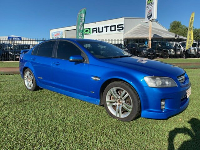 Used Holden Commodore VE MY09 SS Berrimah, 2008 Holden Commodore VE MY09 SS Blue 6 Speed Manual Sedan