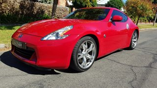 2011 Nissan 370Z Z34 MY11 Red 7 Speed Automatic Coupe.