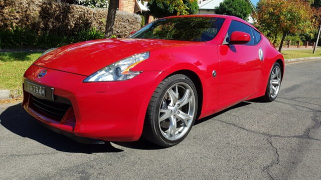 Used Nissan 370Z Z34 MY11 Prospect, 2011 Nissan 370Z Z34 MY11 Red 7 Speed Automatic Coupe