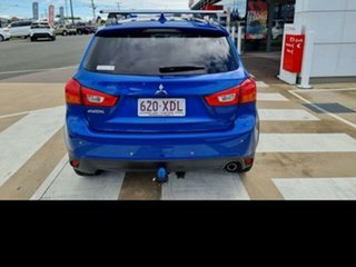 2016 Mitsubishi ASX XC MY17 LS 2WD Blue 6 Speed Constant Variable Wagon.