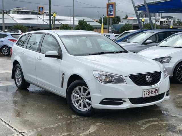 Used Holden Commodore VF II MY16 Evoke Sportwagon Chermside, 2016 Holden Commodore VF II MY16 Evoke Sportwagon White 6 Speed Sports Automatic Wagon