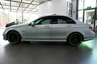 2013 Mercedes-Benz C-Class W204 MY13 C63 AMG SPEEDSHIFT MCT Performance Package Plus Silver 7 Speed