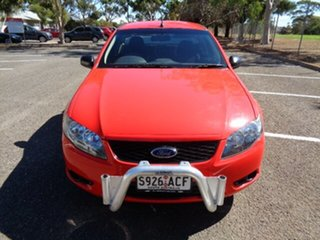 2008 Ford Falcon FG Ute Super Cab Red 4 Speed Automatic Utility.