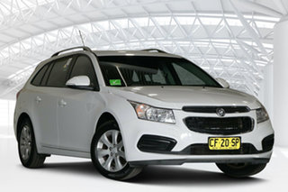 2015 Holden Cruze JH Series II MY15 CD Sportwagon Summit White 6 Speed Sports Automatic Wagon.