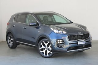 2016 Kia Sportage QL MY16 Platinum AWD Blue 6 Speed Sports Automatic Wagon.