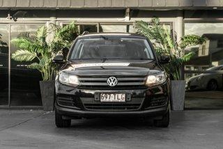 2013 Volkswagen Tiguan 5N MY14 118TSI DSG 2WD Black 6 Speed Sports Automatic Dual Clutch Wagon.