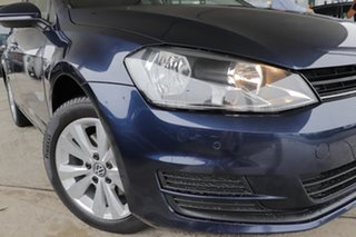 2013 Volkswagen Golf VII MY14 90TSI DSG Comfortline Night Blue 7 Speed Sports Automatic Dual Clutch