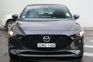 2020 Mazda 3 BP2HLA G25 SKYACTIV-Drive GT Machine Grey 6 Speed Sports Automatic Hatchback